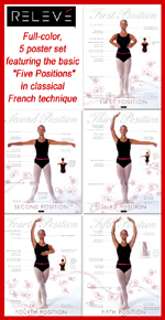 &quot;Position It Perfect&quot; Ballet Poster Set