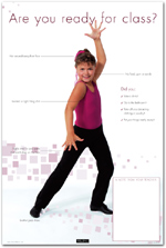 &quot;Are You Ready For Class&quot; Jazz Dance Poster
