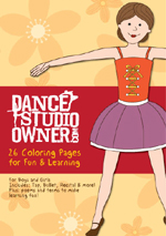 Dance Coloring Pages CD