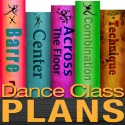 Dance class plans: low intermediate lyrical class for 9 - 11 year olds